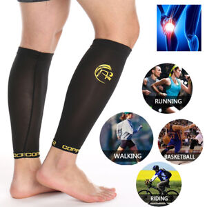 8fef9de599704f Image is loading Copper-Medical-Sports-Calf-Braces-Support-Sleeves-Leg-