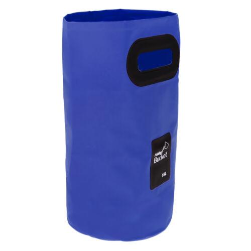 Silikon Eimer Falteimer Faltbarer Wasser Eimer 15 L viele Farbe Auswahl