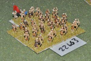 10 Mm Dark Ages/arabe-archers 32 Figures-inf (22663)-afficher Le Titre D'origine Beau Lustre