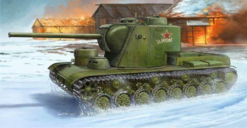 Trumpeter 1 35 KV-5 Super Heavy Tank