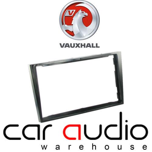 Vauxhall Antara 2007 sull/' auto radio stereo Pianoforte Nera Doppio Din Pannello Fascia