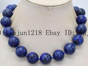 Natural LapisLazuli Necklace,LapisLazuli Faceted necklace,Blue Lapislazuli Necklace,LapisLazuli Bead Necklace,LapisLazuli Handmade Necklace