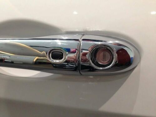 for Jeep Cherokee 2014-2018 ABS Chrome Side Door Handle Catch Cover Trim