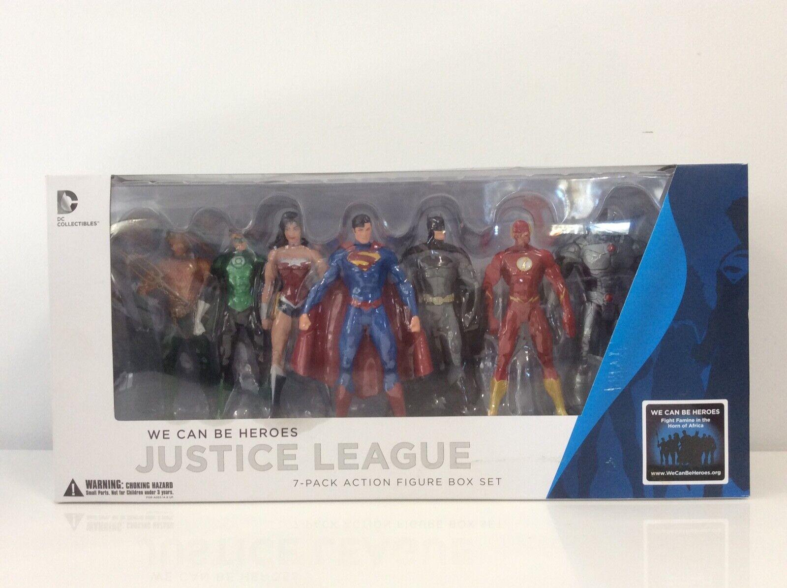 DC Collectibles - Justice League 7-Pack Action Figure Set - New