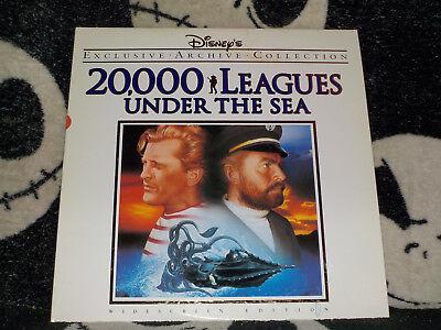 20,000 Leagues Under The Sea Breitbildschirm Archiv Laserdisc Ld Disney Gratis