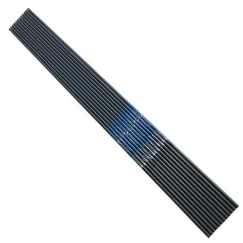 12PCS CE SP340 32/'/' Carbon Arrows Shafts Compound Bow Hunting Archery