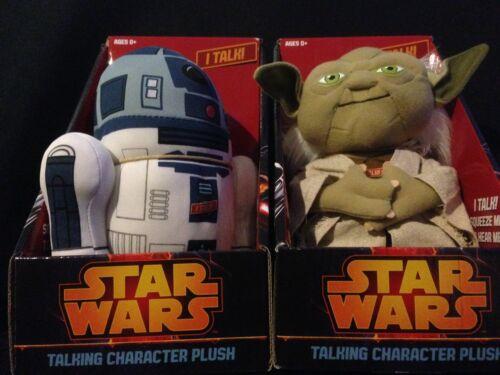 Star Wars Yoda and R2-D2 8 1//2-Inch Talking Plush Set Underground Toys