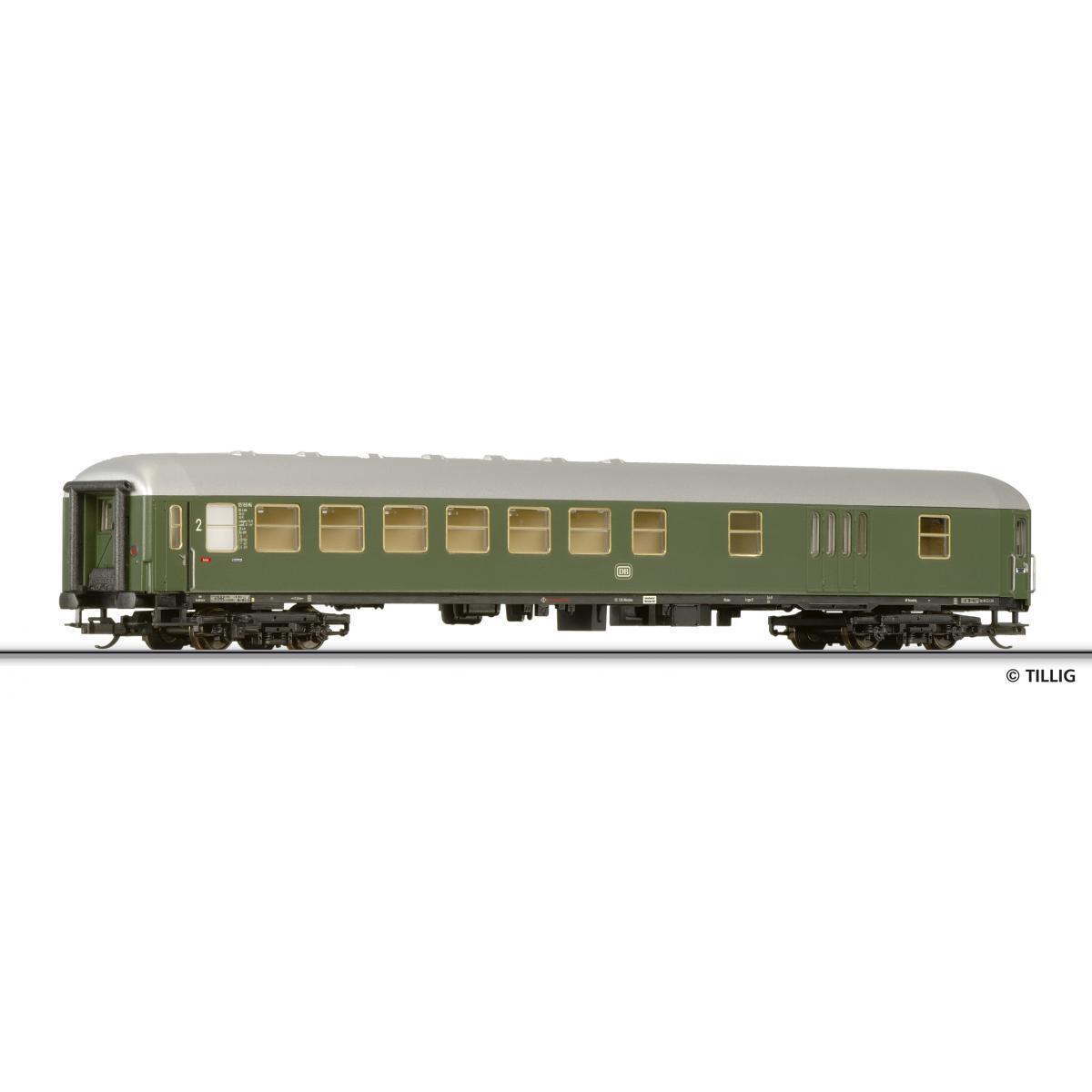 Tillig 13519 TT viaggiatori 2. classe con Borsaagli compartimento EP III Nuovo OVP -