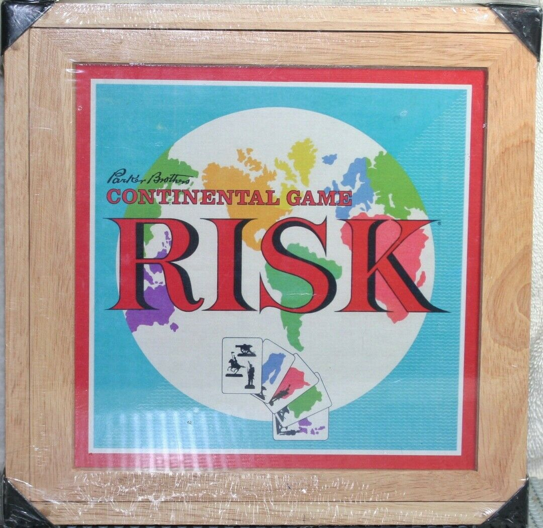 RISK NOSTALGIA GAMES SERIES BY PARKER BredHERS NEW AND FACTORY SEALED