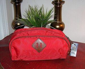 3a633a9c925 Polo Ralph Lauren Men s red Toiletry,Shave Kit Bag Travel Bag,Case ...