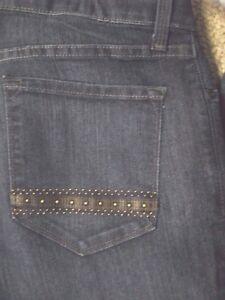 Not Straight Marilyn Pocket Nwt 0 di figlia tua Nydj Jeans Studded awxgq0g15