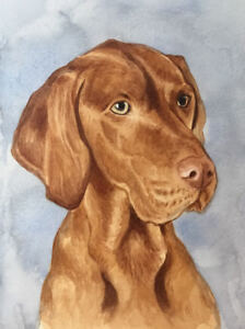 8-x-6-034-Custom-Watercolour-Pet-Portrait-any-pet-painted-from-your-photos