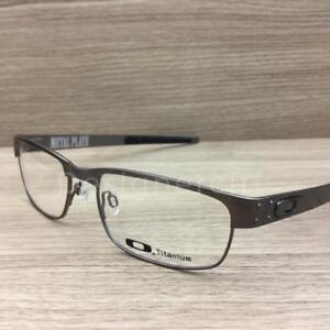Image is loading Oakley-Metal-Plate-Eyeglasses-Brushed-Chrome-OX5038-0655- 5dca1296af
