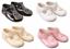 Shoes-baby-girl-pram-soft-BAYPODS-T-bar-black-pink-white-cream-Early-Days miniatuur 1