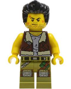 MINIFIGURE LEGO MONSTER FIGHTER FRANK ROCK MOF015