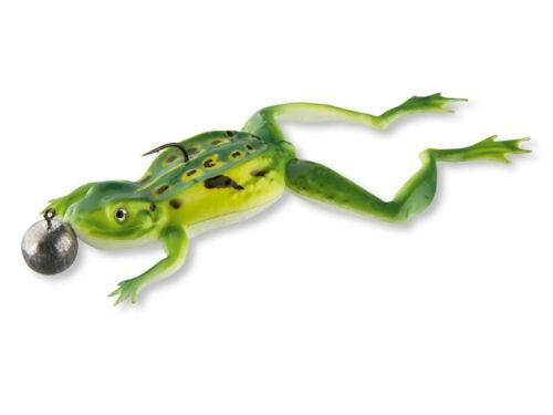Cormoran 3D SOFTFROG Kunstköder realistische Frosch-Imitation 12cm 16g Hechtköde