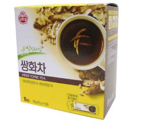 Korea Ottogi Healthy Traditional Ssanghwa Black Herbal Tonic Tea 15PCS 6.87OZ