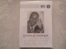 Charlie Parker - Non Stop Music 158 Titles 10 Hours - mp3 Neu & OVP NEW & Sealed