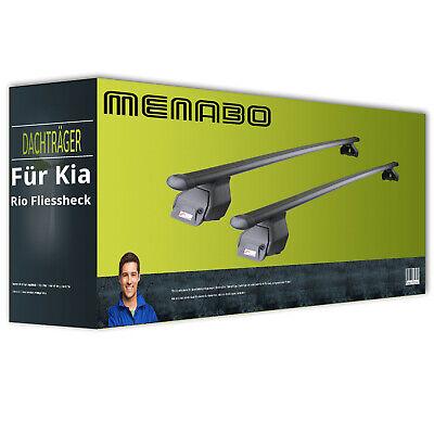 Stahl Dachträger für Kia Rio Stufenheck Typ UB III kpl + EBA Menabo Tema