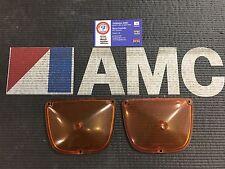 1970 AMC Javelin Front Turn Signal Lense Pair Rare