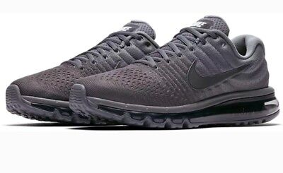 new style 91c9f 5b3f2 Nike Air Max 2017 Cool Grey 849559-008 Men's Running Shoes Size US 8  887225864606 | eBay