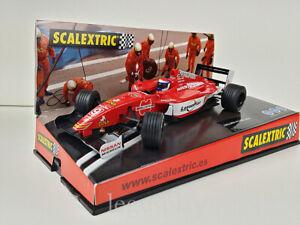 Slot Car Scalextric 6142 Nissan SN01 Dallara World Series #9 M. Gene