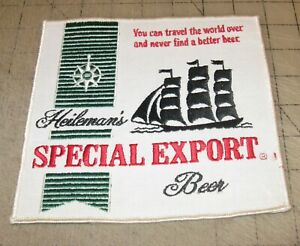 Heileman-039-s-SPECIAL-EXPORT-BEER-7-034-x-6-5-034-White-Shirt-Jacket-PATCH