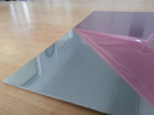 ".040 Mirror Aluminum Sheet 6/"" x 6/"""