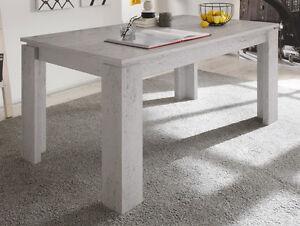 Esstisch-Kuechentisch-Beton-Stone-ausziehbar-160-200-cm-Esszimmer-Auszieh-Tisch