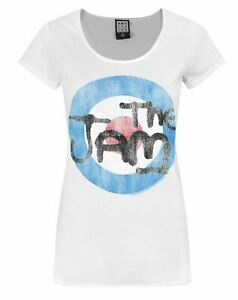 Amplified-The-Jam-Logo-Women-039-s-T-Shirt