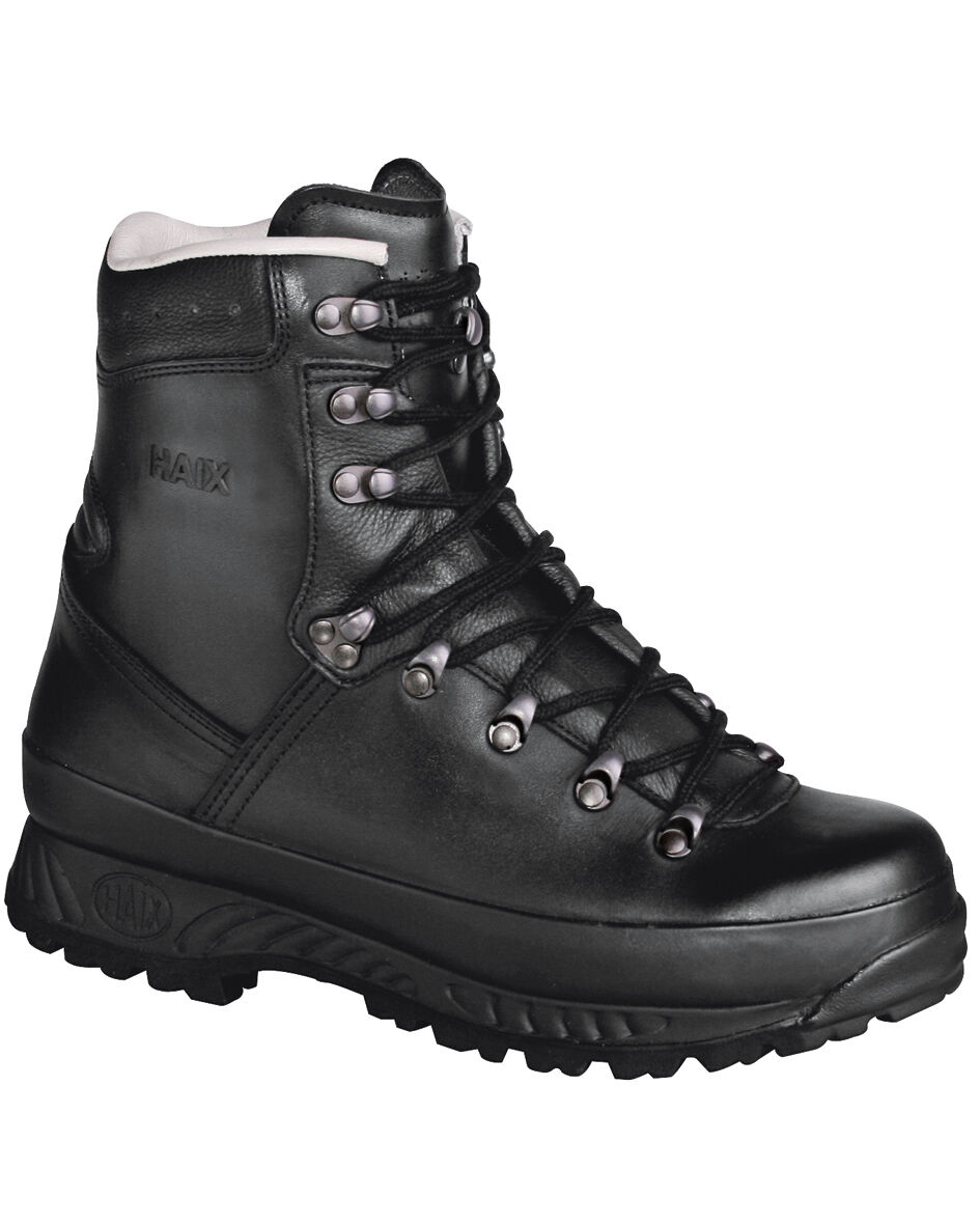 Haix Scarpe montagna leggermente pelle nera-stivali scarponcini da trekking Scarpe 39-47,5