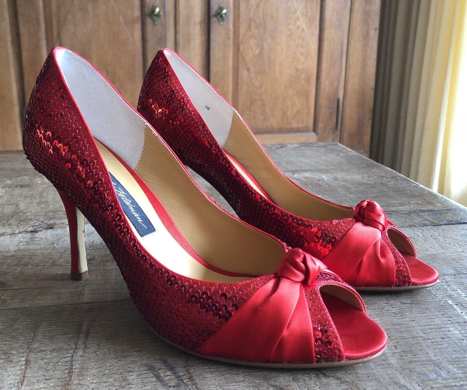 Beverly Feldman PUMPS PUMPS PUMPS Schuhe Pailletten Gr. 38 NEU mit Karton bc43a9