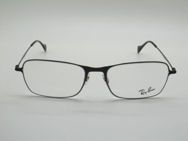 e353c97f7e NEW Authentic Ray Ban RB 6253 2760 Matte Black 54mm RX Eyeglasses w  Case