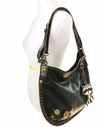 Chala Hobo style crossbody purse with Coin Purse 6 Color options Fox
