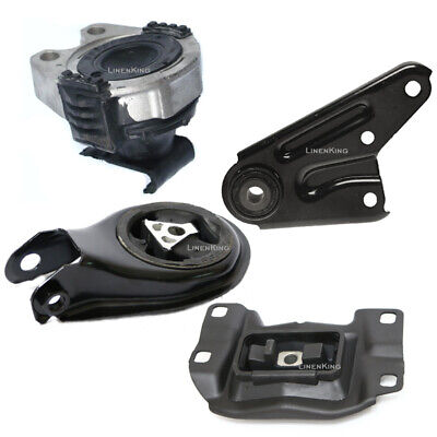 Engine Motor /& Transmission Mount Set 4PCS 2004-2009 for Mazda 3 2.0L
