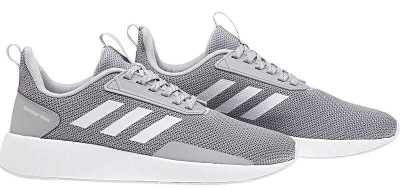 adidas / originals mens questar fahren laufschuhe, grau / weiß / adidas grau, zwei, drei, 10 3d105c