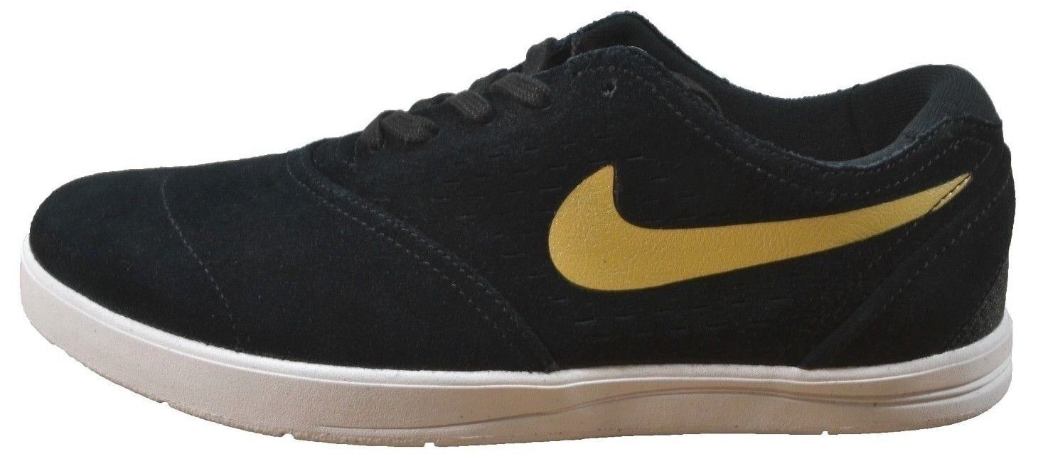 Nike NIKE ERIC KOSTON 2 Black Metallic Gold 580418-070 Skate (244) Men's Shoes