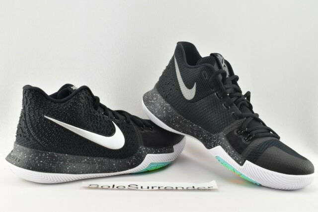 7354f0245074 Authentic Nike Kyrie 3 Red Wolf Grey White 852395 601 Basketball Men ...