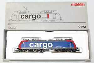Märklin 36851 SBB Cargo Electric Locomotive BR 482 011-4 AC digital
