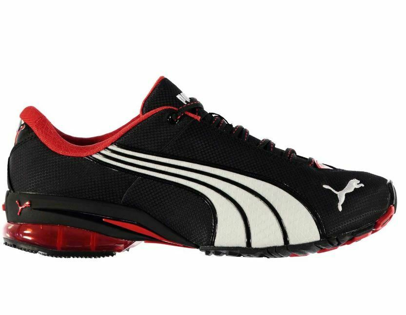 PUMA Mens Gents Puma Jago Nylon Lace Up Trainers Running shoes UK 8 EU 42