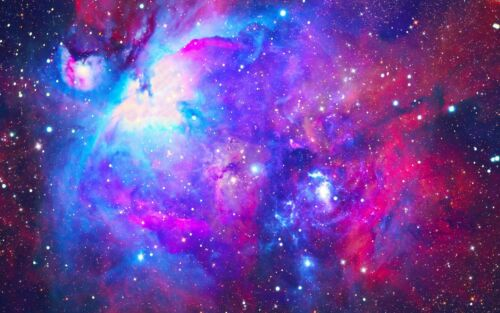 Home Decor Items Galaxy Space Nebula Canvas Pictures Multi Colour Universe Wall Art Poster Furniture Diy
