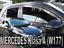 HEKO 23609 saute vent 4 pièces Mercedes a w177 HAYON INCLINÉ 5-türig année de construction à Partir De 2018