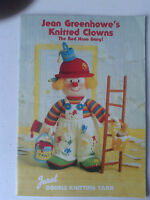 Jean Greenhowe's Knitting Patterns - Knitted Clowns