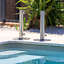 Umbrella Base Outdoor Patio Stainless Steel 316 Marine Grade With Removable Pole