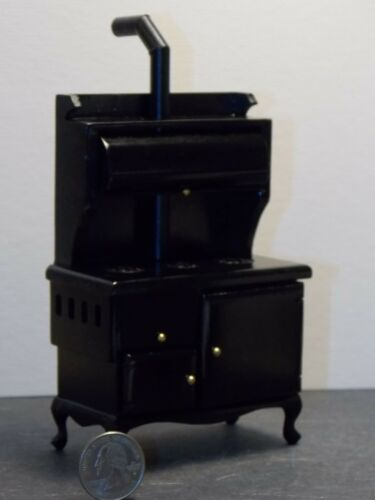 Dollhouse Miniature Old Fashion Cook Stove Kitchen 1:12 one inch scale N51