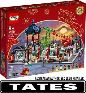 LEGO 80107 Spring Lantern Festival - Chinese Traditional Festivals from Tates...