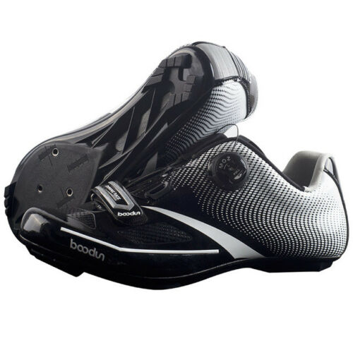 BOODUN Pro Self-Locking Ultralight Carbon Breathable Road Training Cycling Shoes
