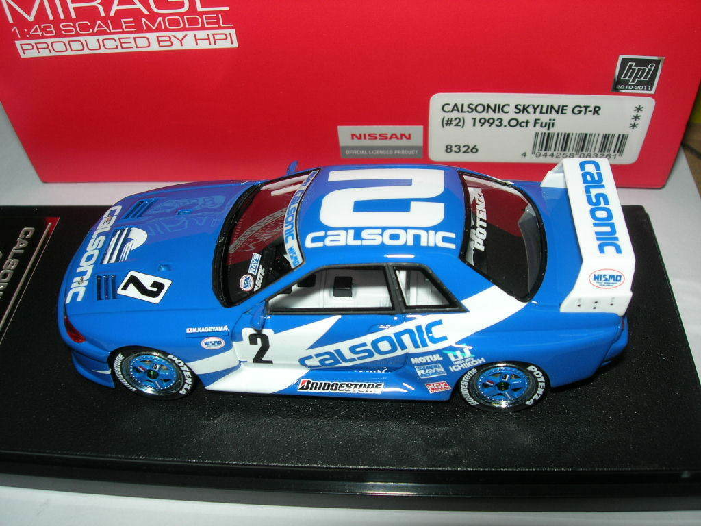 Fuji Skyline Calsonic 8326 43 1 Mirage HPI 1993 GT-R NEW