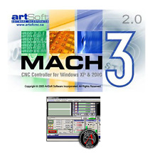Mach3 CNC Software by Artsoft Control CNC Machines / Steppers