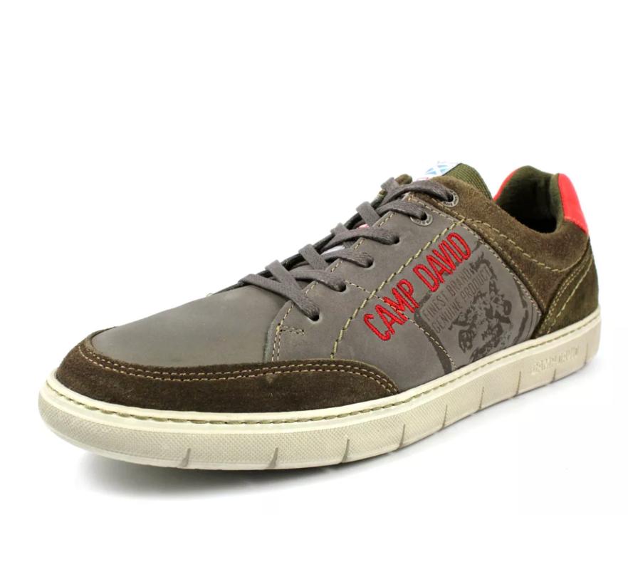 Camp David Schnürschuh castle grey Sneaker Turnschuhe Schuhe 42